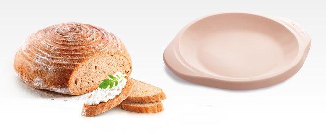 Круглая силиконовая форма для цельнозернового хлеба DELLA CASA, представленная специалистами Tescoma в марте 2017 года