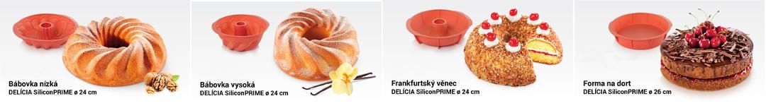 Силиконовые формы для выпечки DELICIA SiliconPRIME от Tescoma
