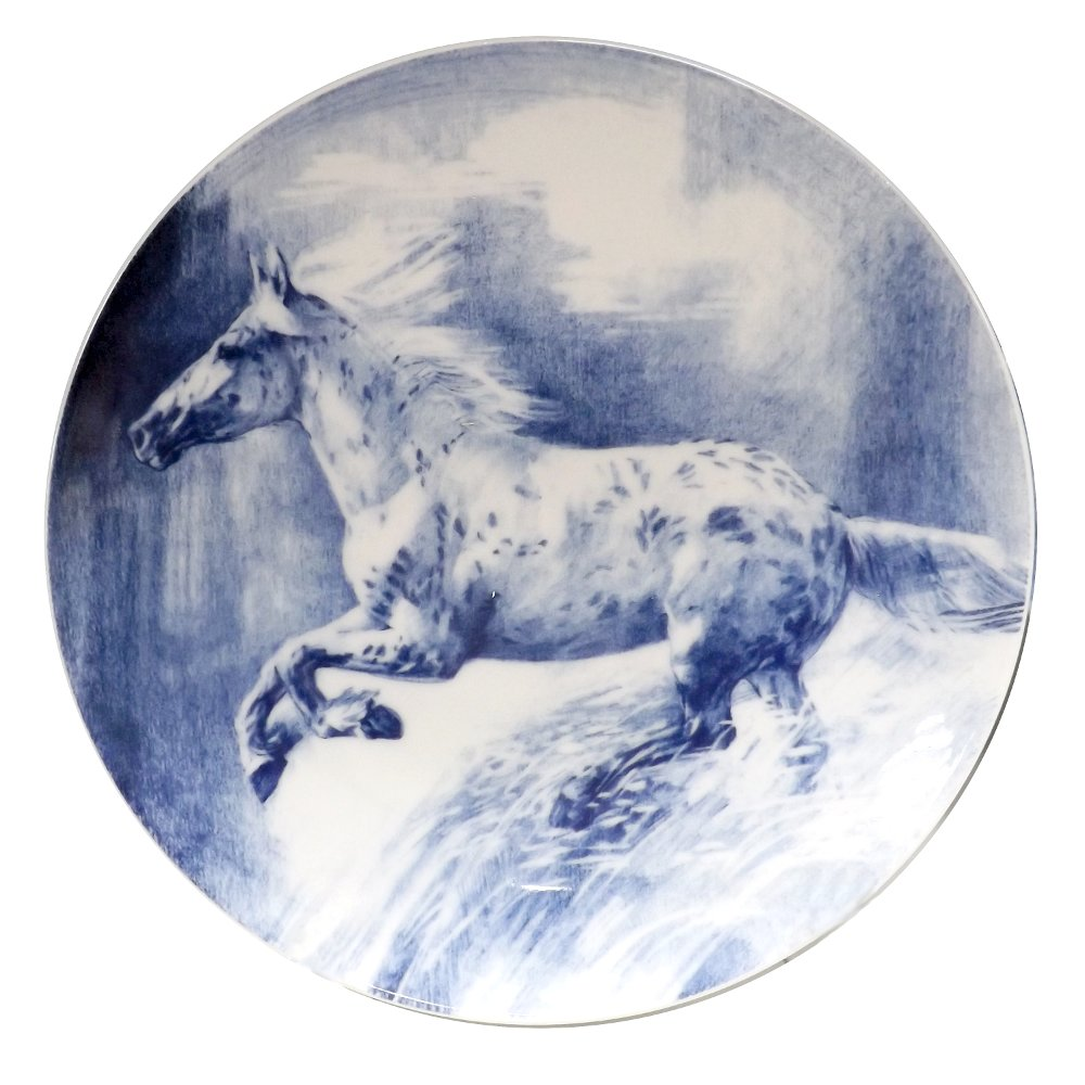 Декоративная фарфоровая тарелка АМЕРИКА от ИФЗ