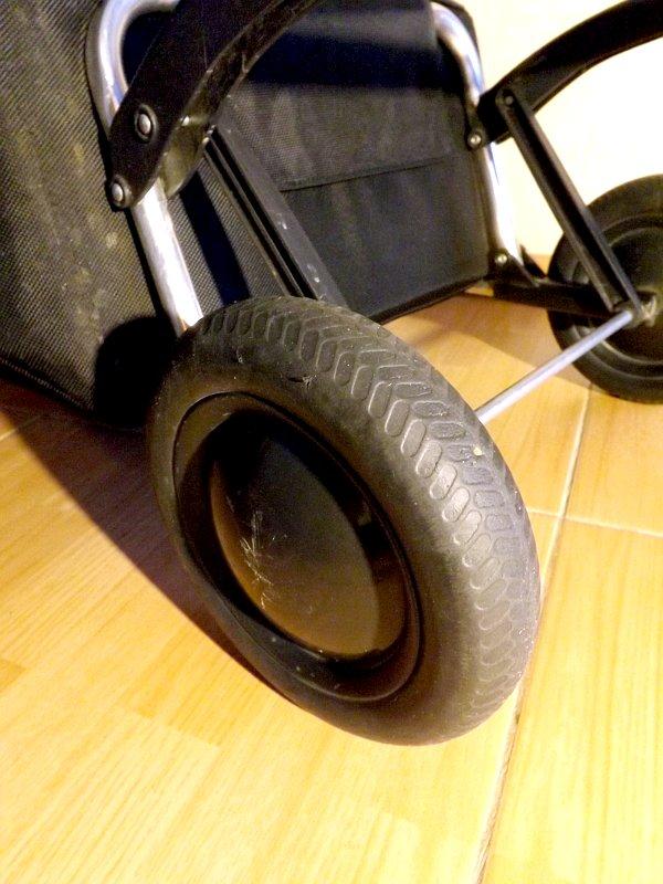Колесо сумки-тележки LOGIC RG PAC067azul от Rolser с эластичным ободом