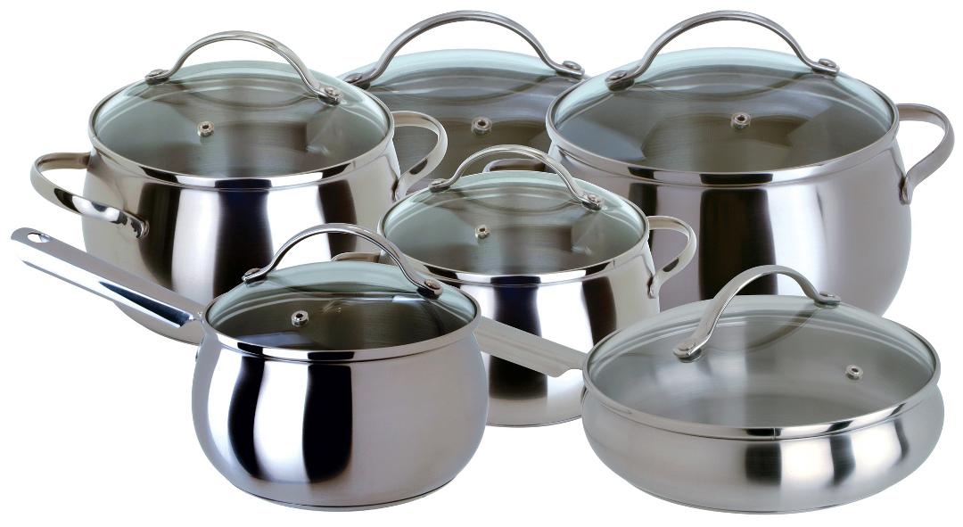 Набор посуды из нержавеющей стали APPLE от Regent Inox