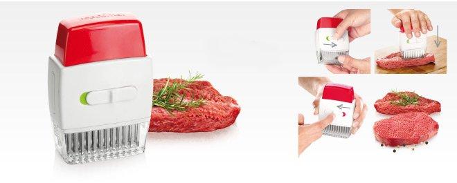 Размягчитель мяса - тендерайзер (стейкер) HANDY, представленный специалистами Tescoma в марте 2017 года