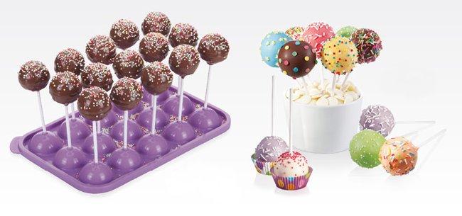 Наборы для выпечки и сервировки десертных шариков DELICIA KIDS из новинок от Tescoma, представленных в октябре 2015 года