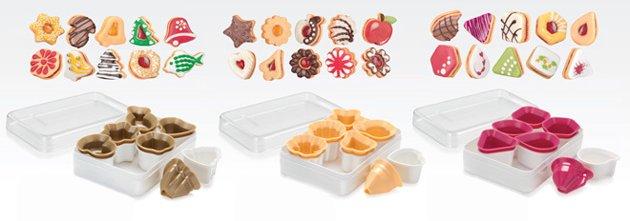 Пресс-формочки DELICIA от Tescoma для трёхслойного печенья, представленные в октябре 2016 года