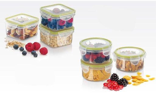 Мини-контейнеры FRESHBOX для хранения и переноски продуктов, из ассортимента новинок от Tescoma, представленных в марте 2015 года