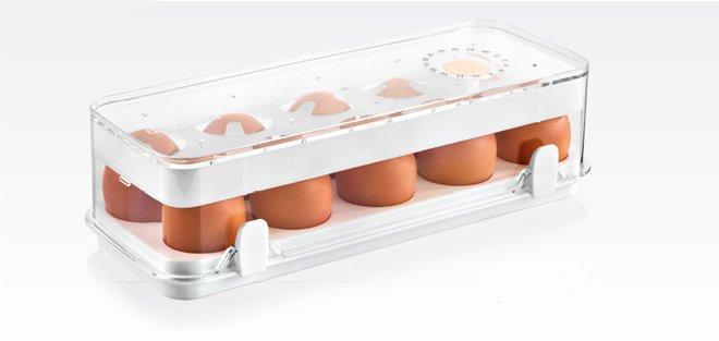 Контейнер PURITY для хранения 10 яиц из ассортимента новинок от Tescoma, представленных в сентябре 2015 года