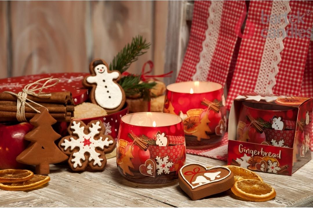 Новогодние аромасвечи от Bartek Candles