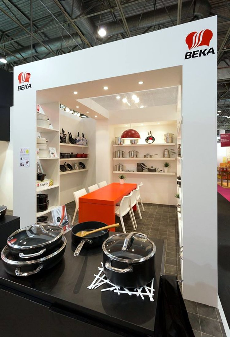 Посуда от компании Beka на парижской выставке Maison & Objet 2014 - вид А