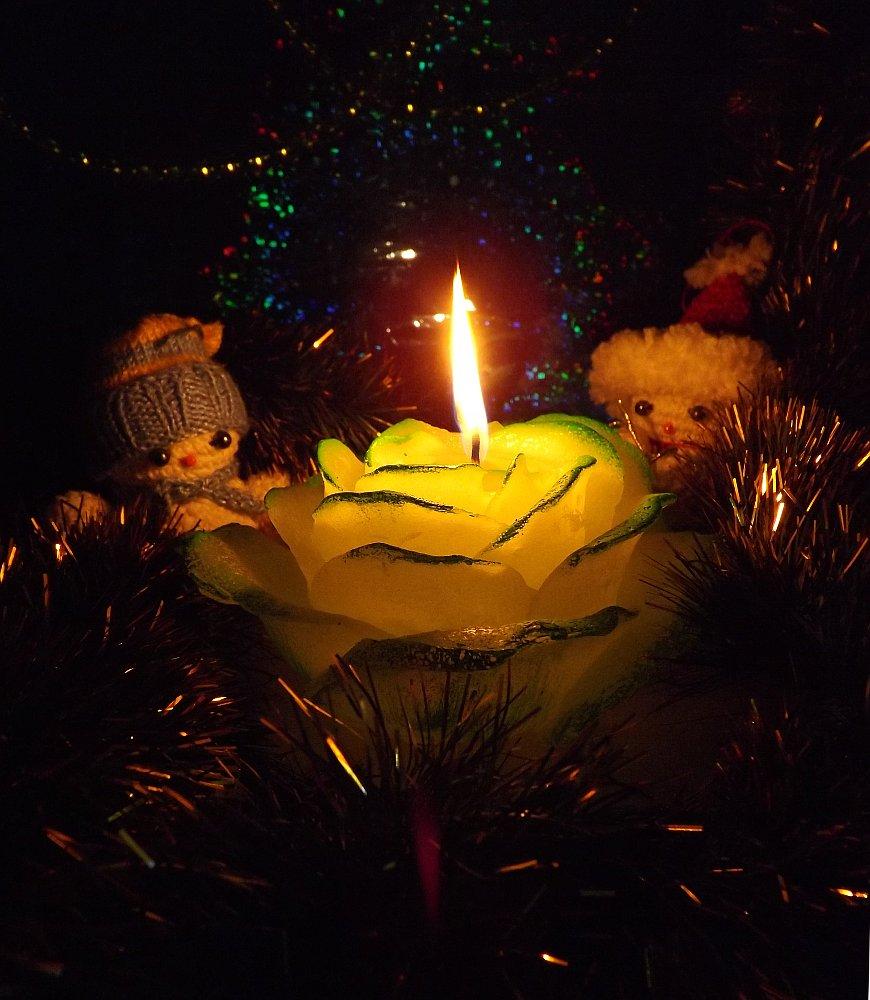 Горение свечи от Bartek Candles