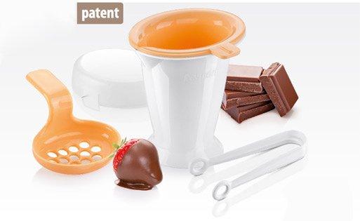 Набор DELICIA для использования расплавленного шоколада, из ассортимента новинок от Tescoma, представленных в марте 2015 года