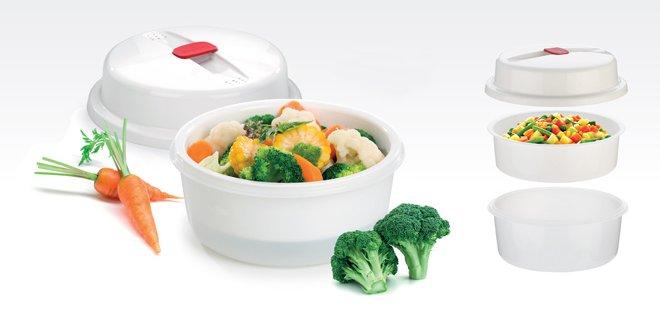 Набор PURITY для приготовления овощей в микроволновых печах, представленный специалистами Tescoma в июне 2017 года